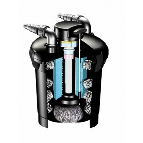 Filtru de presiune PondoPress 10000, filtru de presiune si UVC + pompa